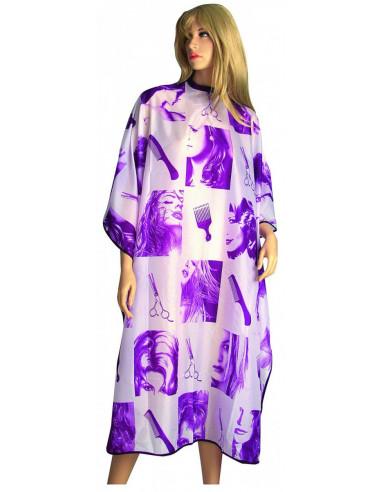 EUROSTIL pláštenka na strihanie ´nožnice´, fialová
