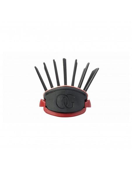 OLIVIA GARDEN Heat Pro Ceramic ION kefa na vlasy Styler 7 radová