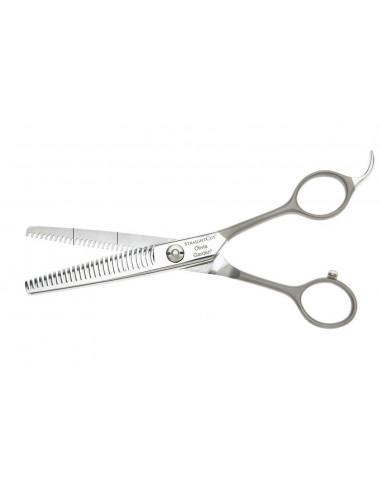 """OLIVIA GARDEN Straight Cut kadernícke efilačné nožnice 6,27"""""""