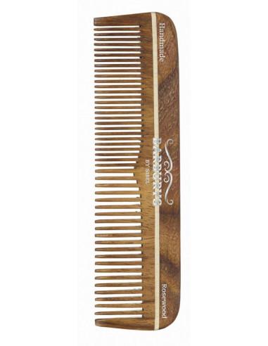 SIBEL Barburys hrebeň na vlasy ROSEWOOD N°2 - 16,8 cm