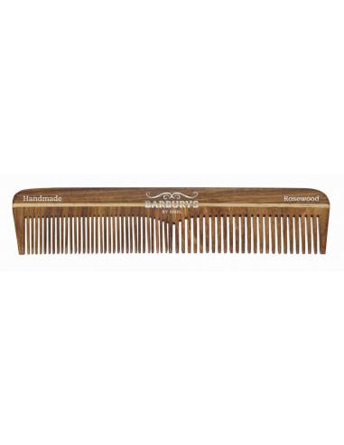 SIBEL Barburys hrebeň na vlasy ROSEWOOD N°3 - 13 cm