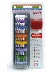 WAHL 3170-417 set farebných plastových násadcov pre WAHL - 8 ks