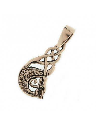 Keltský bronzový prívesok Dragon...