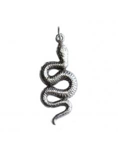 Cínový prívesok had