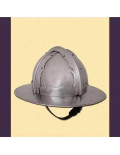 Nitovaný klobúk (do boja)