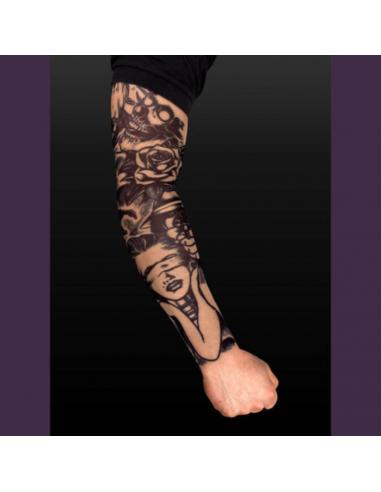 Tattoo rukáv vrah
