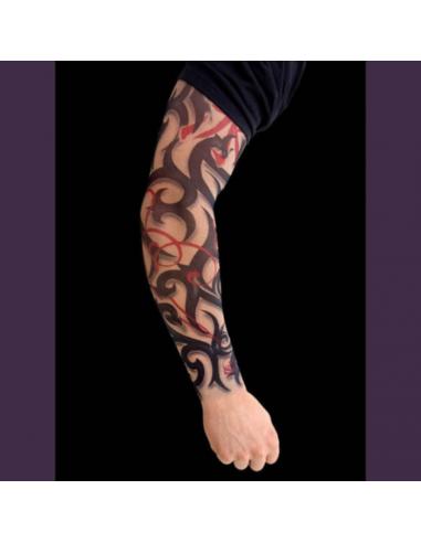 Tattoo rukáv tribal