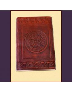 Kožený zápisník so...