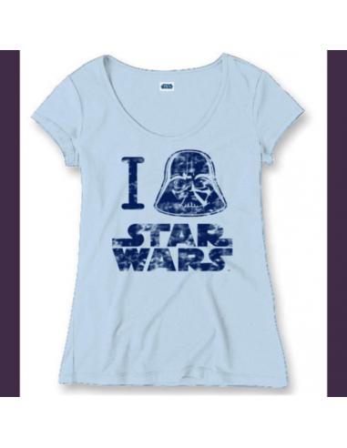 Dámske tričko I ... Star Wars -...
