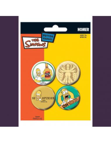 Odznaky Simpsonovci