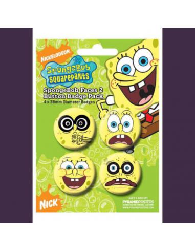 Spongebob odznaky - tváre 2