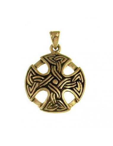 Bronzový prívesok keltský kríž
