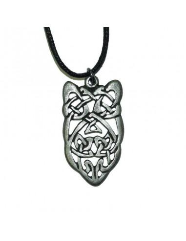 Cínový prívesok keltské divoké zviera