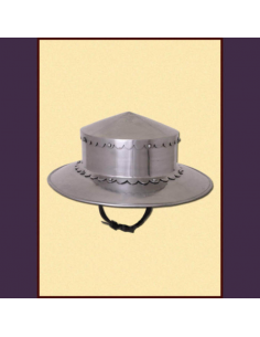 Hrncový klobúk, rovný tvar...