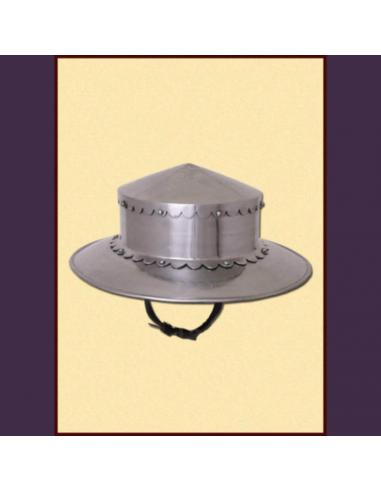 Hrncový klobúk, rovný tvar (do boja)