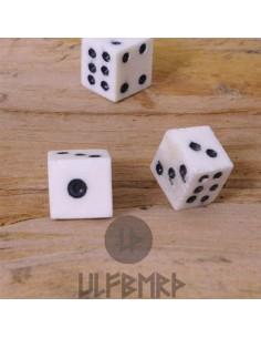 Hracie kocky z kostí (3ks)