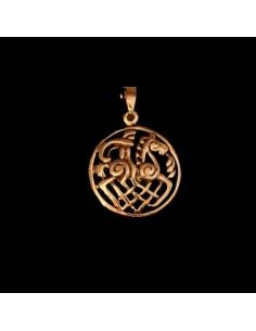Bronzový prívesok Odin na koni
