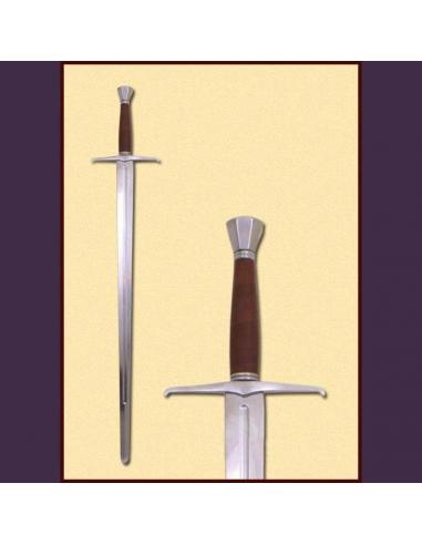 Jeden aj polručný meč, neskorý stredovek
