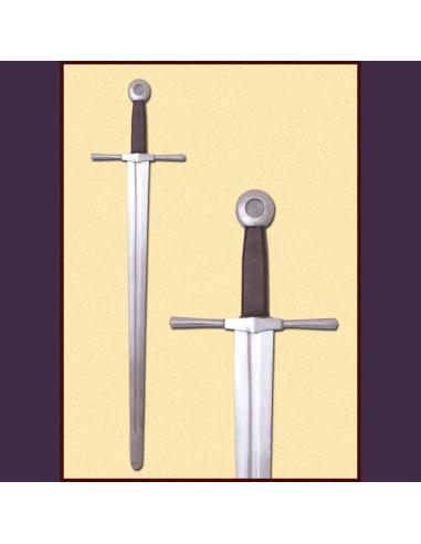 Jednoručný meč s okrúhlou plochou...