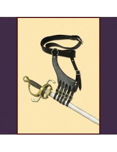 Úchyt na meč s opaskom