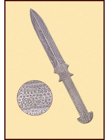 Damaškový nôž rovný