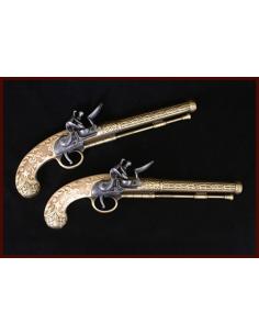 Replika dvoch duelových zbraní
