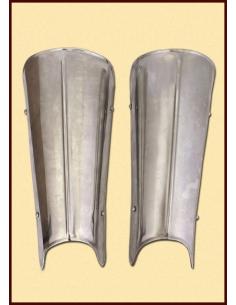 Oceľové nohy s rebrom