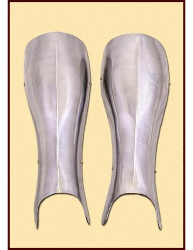 Rytierska zbroj na nohy