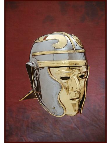 Ríšska prilba s tvárou