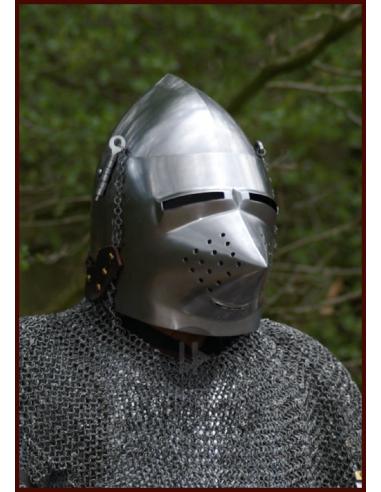 Bascinet rok 1390 (do boja)