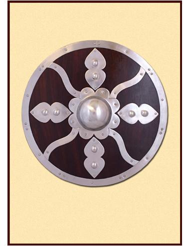 Okrúhly štít s kovaním (do boja)