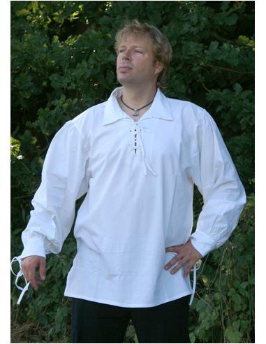Neskorostredoveká košeľa so šnúrkami