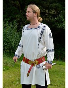Bavlnená rímska tunika s lemom