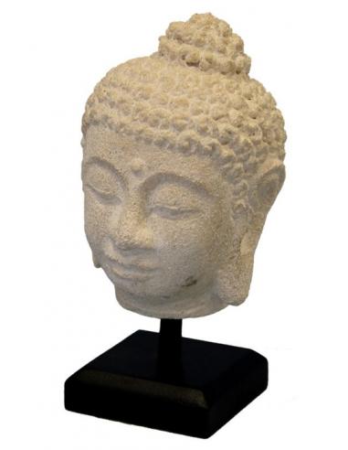 Soška hlavy Buddhu S70223