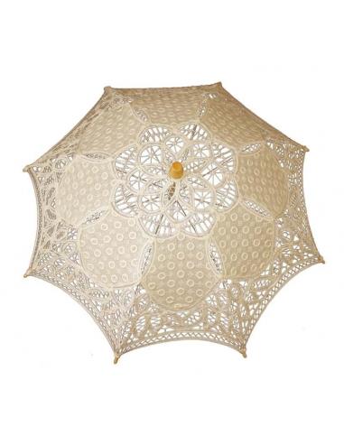 Dámsky dáždnik béžový D77726