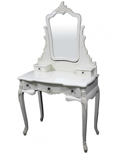 Toaletný stolík biely S73973