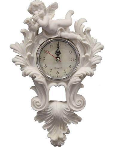 Biele hodiny s anjelom H61689