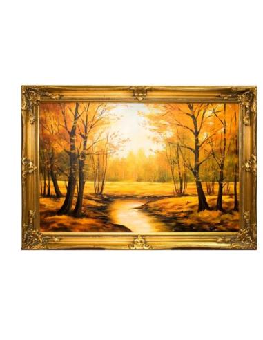 Obraz - Les v jeseni