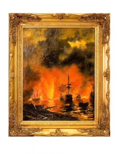 Obraz - More v plameňoch