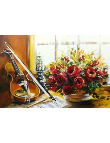 Obraz - Symfónia pre ruže