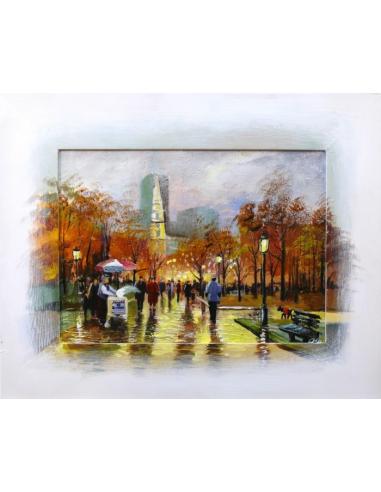 Obraz - Mestský park