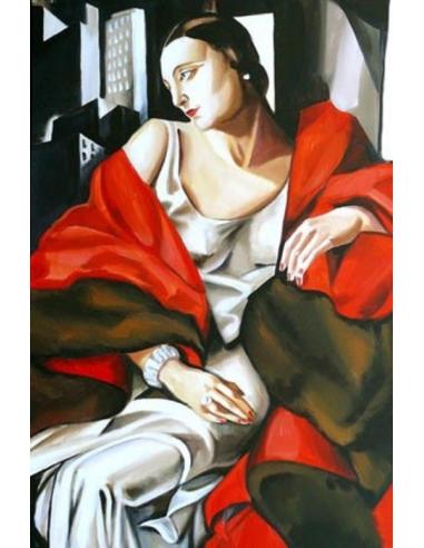 Tamara de Lempicka - Portrét pani...