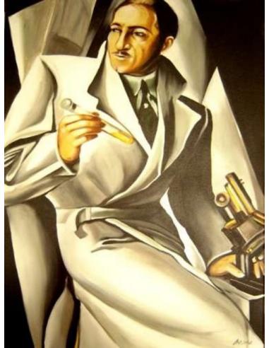 Tamara de Lempicka - Portrét doktora...