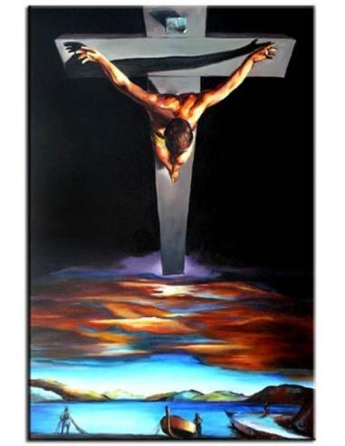 Obraz Salvador Dalí - Kristus svätého...