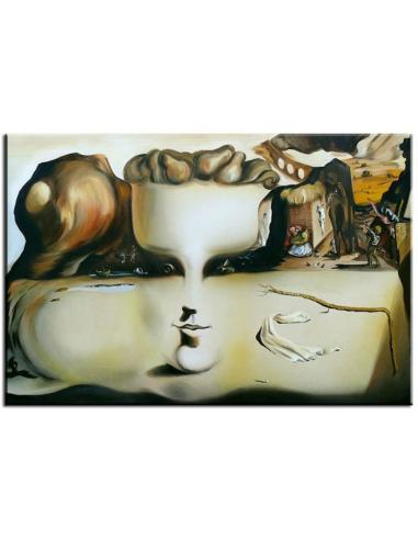 Obraz Salvador Dalí - Prízrak tváre a...