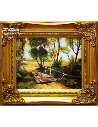 Obraz - Most k chalúpke