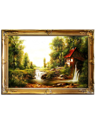 Obraz - Vodný mlyn