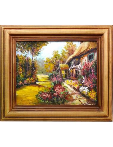 Obraz - Kvetinový záhon