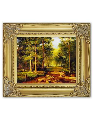 Obraz - Ihličnatý les