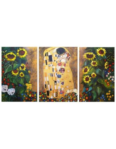 Tri obrazy Gustava Klimta - Bozk a...